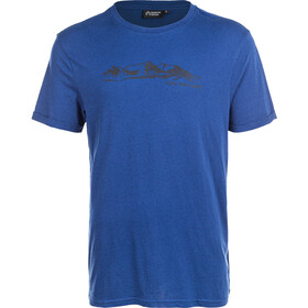 North Bend Radisson Short Sleeve Tee Men estate blue